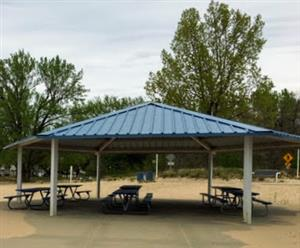 Lions Park Beach - North Shelter
