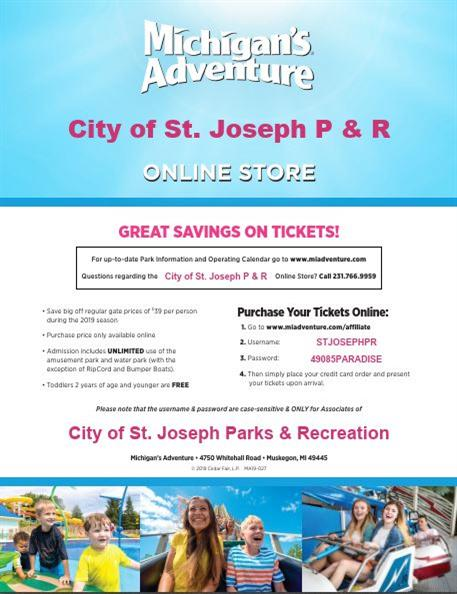 City Of St Joseph Parks And Recreation News